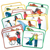 R-62010 - Body Poetry Animal Action Cards in Hands-on Activities