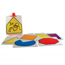 R-62031 - Dry Erase Cone Signs in Physical Fitness