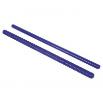 RB-767 - Rhythm Sticks 1 Fluted 1 Plain 14L in Instruments