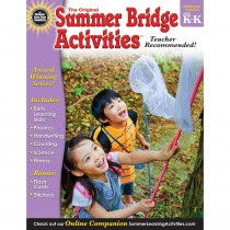 RB-904155 - Summer Bridge Activities Book Gr Pk-K in Skill Builders