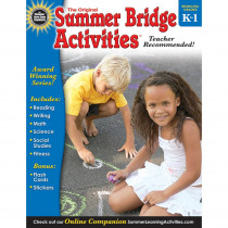 RB-904156 - Summer Bridge Activities Book Gr K-1 in Skill Builders
