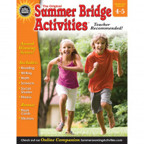 RB-904160 - Summer Bridge Activities Book Gr 4-5 in Skill Builders