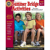 RB-904162 - Summer Bridge Activities Book Gr 6-7 in Skill Builders