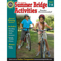 RB-904163 - Summer Bridge Activities Book Gr 7-8 in Skill Builders