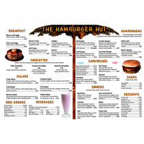 REM102D - Menu Math Hamburger Hut Extra Menus 6 in Money