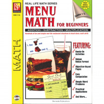 REM111A - Menu Math For Beginners in Money