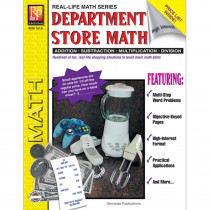 REM161A - Book Department Store Math Gr 4 - 8 in Money