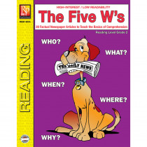 REM487A - The 5 Ws 2Nd Gr Reading Level in Comprehension