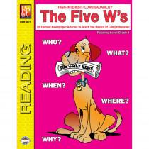 REM487F - The 5 Ws 1St Gr Reading Level in Comprehension