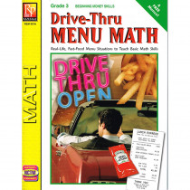 REM601A - Drive Thru Menu Math Beginning Money Skills in Money