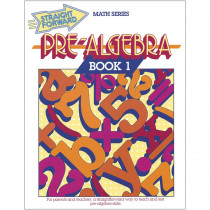 REMGP028 - Straight Forward Math Pre Alg Bk 1 in Activity Books
