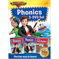 RL-317 - Rock N Learn Phonics 3 Dvd Set in Dvd & Vhs