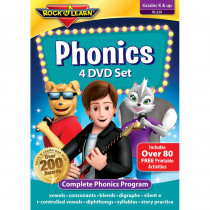 RL-329 - Rock N Learn Phonics 4 Dvd Set in Dvd & Vhs
