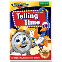 RL-347 - Rock N Learn Telling Time Dvd in Dvd Player