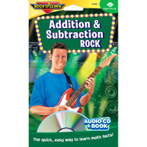 RL-906 - Addition & Subtraction Rock Cd+Book in Audio & Video Programs