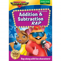 RL-923 - Addition And Subtraction Rap On Dvd in Dvd & Vhs