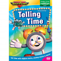 RL-947 - Telling Time Video Dvd in Dvd & Vhs