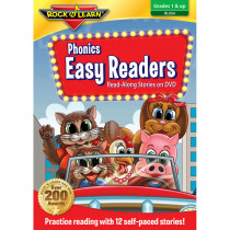 RL-954 - Phonics Easy Readers On Dvd in Dvd & Vhs