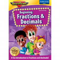 RL-981 - Beg Fractions Decimals On Dvd in Dvd & Vhs