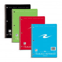 ROA10021 - Spiral Notebook 1 Subject 70 Pages in Note Books & Pads