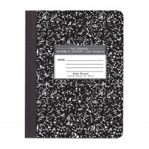 ROA77230 - Marble Composition Book Black in Note Books & Pads