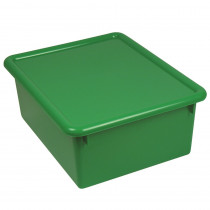 ROM16005 - Stowaway Green Letter Box With Lid 13 X 10-1/2 X 5 in Storage Containers