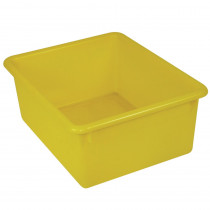 ROM16103 - 5In Stowaway Letter Box Yellow No Lid 13 X 10-1/2 X 5 in Storage Containers