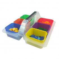ROM250 - Small Caddy With 6 Cups in Storage Containers