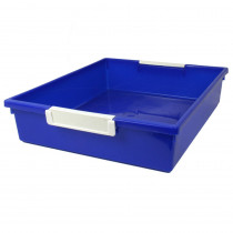 ROM53504 - 6Qt Blue Tattle Tray Wlabel Holder in General
