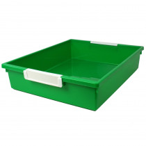 ROM53505 - 6 Qt Green Tattle Tray W Label Hold in General