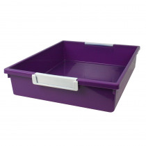 ROM53506 - 6Qt Purple Tattle Tray W Label Hold in General