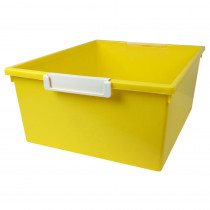 ROM53603 - 12Qt Yellow Tray W Label Hold Tattle in General