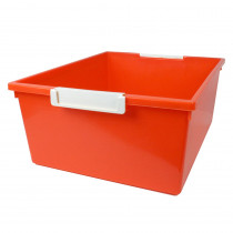 ROM53609 - 12Qt Orange Tray W Label Hold Tattle in General