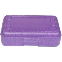 ROM60250 - Pencil Box Purple Sparkle in Pencils & Accessories