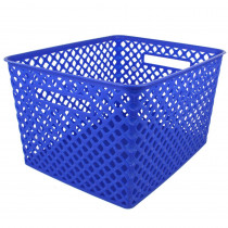 ROM74204 - Large Blue Woven Basket in General
