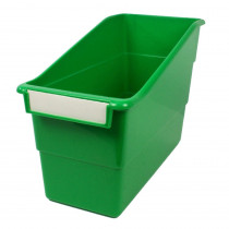 ROM77205 - Green Shelf File With Label Holder Standard in General