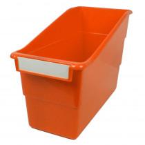 ROM77209 - Orange Shelf File With Label Holder Standard in General