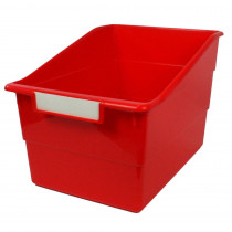ROM77302 - Wide Red File With Label Holder in General