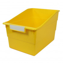 ROM77303 - Wide Yellow File With Label Holder in General