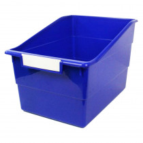 ROM77304 - Wide Blue File With Label Holder in General