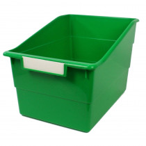ROM77305 - Wide Green File With Label Holder in General
