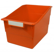 ROM77309 - Wide Orange File With Label Holder in General