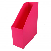ROM77707 - Magazine File Hot Pink 9.5X3.5X11.5 in Storage