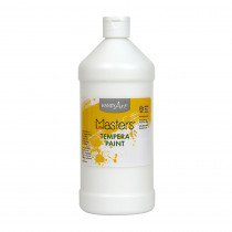 RPC203705 - Little Masters White 32Oz Tempera Paint in Paint