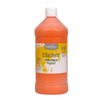 RPC203715 - Little Masters Orange 32Oz Tempera Paint in Paint