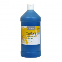 RPC203730 - Little Masters Blue 32Oz Tempera Paint in Paint