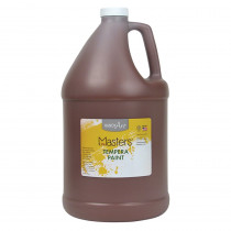 RPC204750 - Little Masters Brown 128Oz Tempera Paint in Paint