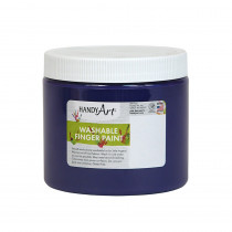 RPC241040 - Handy Art Violet 16Oz Washable Finger Paint in Paint