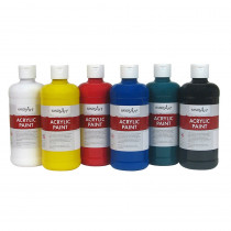 RPC881055 - Handy Art Acrylic Paint 16Oz 6 Set Student in General