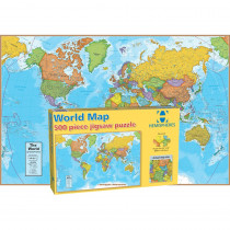 RWPHMP01 - World Map International 500 Piece in Puzzles